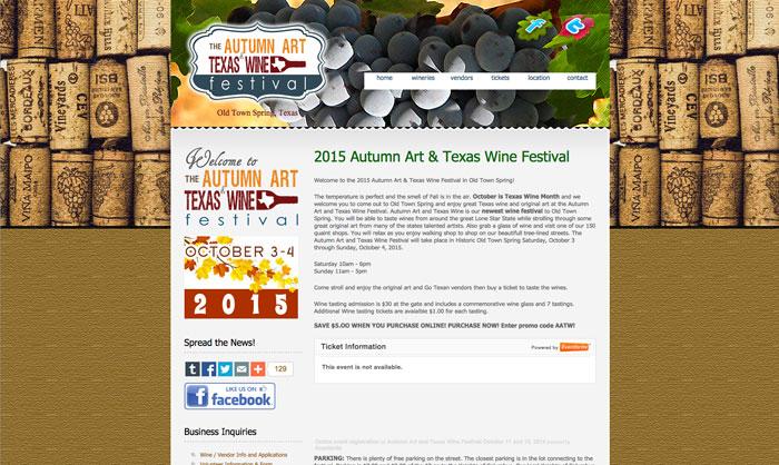 Autumn Art & Wine Festival