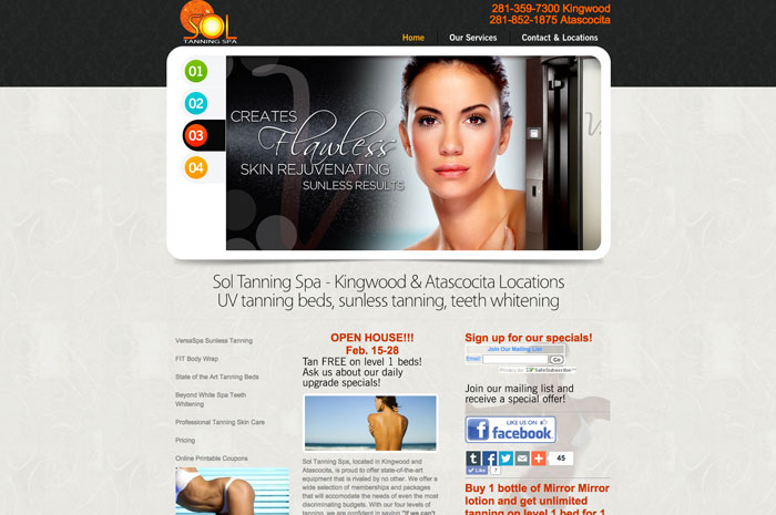 Sol Tanning Spa