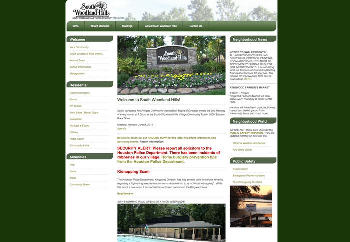 South Woodland Hills Village Association