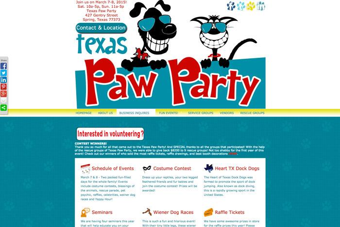 Texas Paw Party