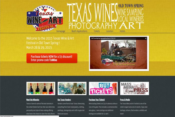 Texas Wine & Art Festival
