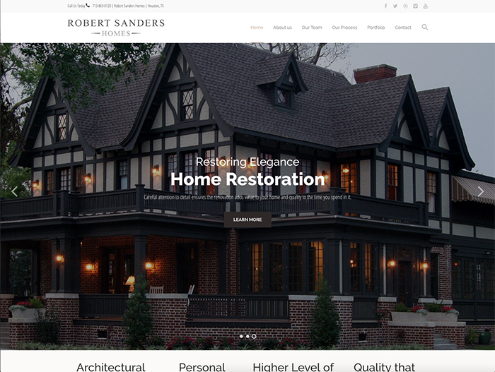 Robert Sanders Homes